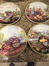 Limoges French Home 4 Pieces Salad Plates