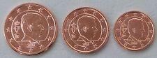 1+2+5 Euro Cent Belgien 2016 unz