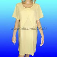 Damen Stillnachthemd 1/4 Arm Baumwolle (Gr. 44/46 & 48/50) von Graziella in gelb
