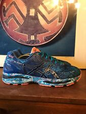 Asics GEL-Nimbus 18 NYC Mens sz 12 M 46.5 Marathon Running Shoes T6D4N NEw York
