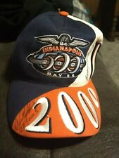 84th Indianapolis Indy 500 2000 Racing Hat Autographed Signed snapback