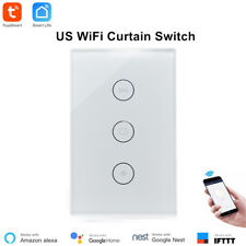 For Electric Shutter New Fireproof Smart Life WiFi Mobile Control Curtain Switch