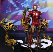 Iron Man Mark IV With Suit Up Gantry ,Sixth Scale Figure, Hot Toys