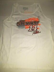 Tony Stewart # 14 Nascar Men's Heritage Tank Top Shirt, 3X