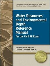 Water Resources and Environmental Depth Reference Manual for the Civil PE Exam b