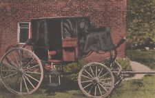 Nashville, TN- Stage Coach of General Andrew Jackson- handcolored postcard