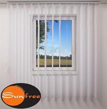 sunfree Vertikal Lamellen Vorhang 100 x 150 cm (BxH) weiß