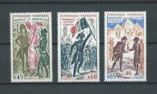 HISTOIRE DE FRANCE - 1972 YT 1729 à 1731 - TIMBRES NEUFS** LUXE