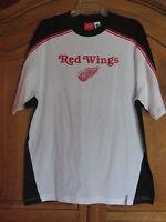 DETROIT RED WING T Shirt NHL HOCKEY  REEBOK Medium