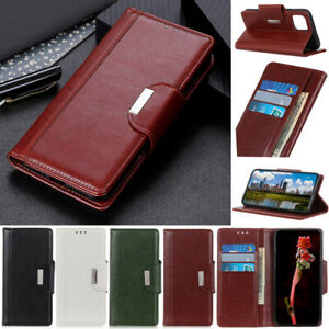 Book Wallet Leather Flip Case Cover For iPhone 13 12 Pro 11 X XR XS Max 7 8 Plus