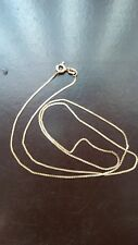 14k YELLOW gold chain pre owned 18 Inch. Not scrap