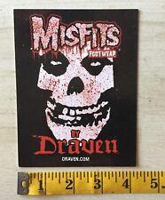 Misfits Draven Skateboard Shoe Punk Rock Postcard Vision Street Wear Danzig