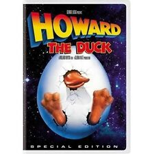 HOWARD THE DUCK -SPECIAL EDITION - WIDESCREEN DVD -SHIPS 1st CLASS NEXT DAY FAST