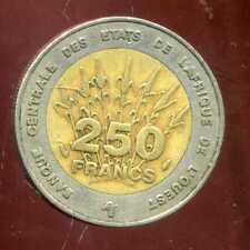 ETATS DE L'AFRIQUE DE L'OUEST  250 francs 1993