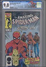 Amazing Spider-Man #276 CGC 9.0 1986 Marvel Comics Hobgoblin App Custom Label