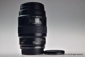 Canon EF Macro 100mm f/2.8 Non-USM Excellent