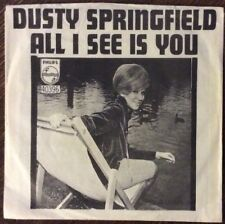 DUSTY SPRINGFIELD All I See Is You 45, 1966 Phillips PICTURE SLEEVE clean