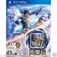 Shin Sangoku Musou Eiketsuden PS Vita PLAYSTATION SONY JAPANESE NEW JAPANZON