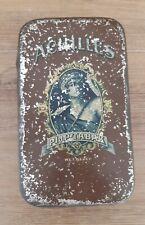 Ancienne boite métal tabac à pipe collection Achilles, tôle émaillée