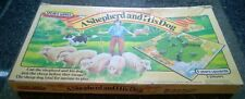 Vintage Spears Games A Shepherd And His Dog Collie Dog Herding Sheep Board Game