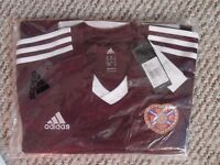 Hearts Football Shirt 13/14 Home Puma RRP £45 Large BNWT