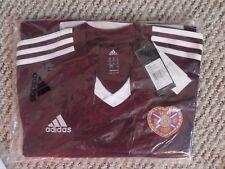 Hearts Football Shirt 13/14 Home Adidas RRP £45 Large BNWT