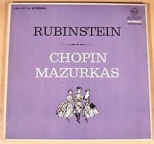 Chopin-mazurkas/Rubinstein (RCA Red Seal, d/3-lp-box/VG + +/m -)