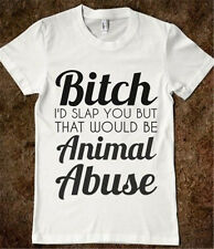 New Black White Cotton Fashion T-Shirts Women Men Funny Tops Tees Great Gifts