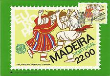 Maximumpostkarte Portugal Madeira