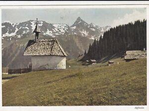 Vorarlberg, Mantschwitz mit dem Schwarzhorn ngl F9375