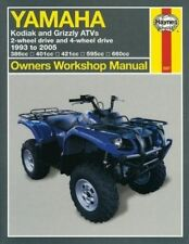 Yamaha Kodiak and Grizzly ATVs: 2-wheel Drive and 4-wheel Drive 1993 to 2005 by Ken Freund (Paperback, 2005)
