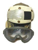 USN Military Flight Deck Crewmen's Impact Resistant Helmet MIL-H-81735B | 7 1/4
