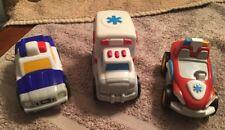 Little Tiles Set Of (3) Emergency Vehicles