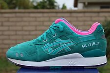 ASICS GEL LYTE III 3 SZ 11 TROPICAL GREEN ALL WEATHER PACK H511L 7878