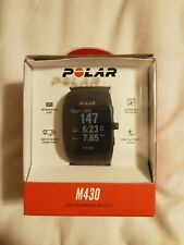 Polar M430 GPS Running Watch- Box, Papers, Charge Cord. Limited Use, EXCELLENT.