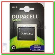 Batteria Ricaricabile DURACELL DR9947 = Samsung BP70A x PL200 SL600 ST100 ES80