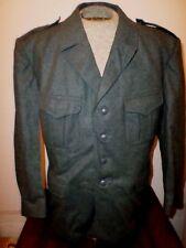 ORIGINAL SWISS MILITARY WOOL DRESS TUNIC UNIFORM JACKET COAT