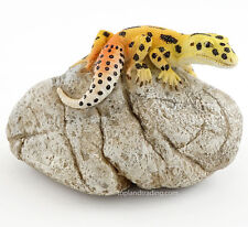 Top Collection Enchanted Story Fairy Garden #4451 LEOPARD GECKO on ROCK