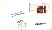 SHIP STAMP Ship Post Board Postmark SHIP MS prinsesse Ragnhild 1966