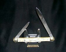 """Frank Buster Knife """"Mother Of Pearl"""" Cut Co. Fight'n Rooster Melon 1970's Rare"""