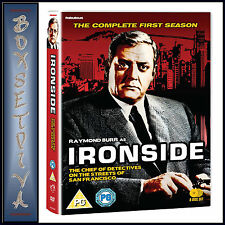 IRONSIDE - THE COMPLETE FIRST SEASON - SEASON 1  **BRAND NEW DVD**