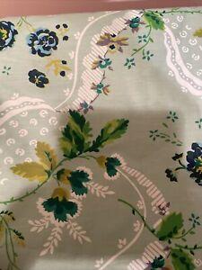 "Vintage Exclusive Schumacher Screen Print Fabric  7 Yards 54"" W"