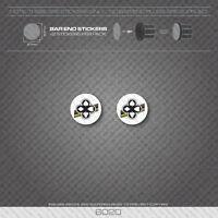 6022 - Cinelli Bicycle Handlebar Bar End Plug Stickers - Decals