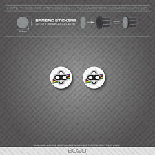 6022 - Cinelli Bicycle Handlebar Bar End Plug Stickers - Decals