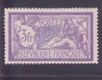 "FRANCE STAMP TIMBRE YVERT N° 206 "" MERSON 3F VIOLET ET BLEU "" NEUF xx LUXE R772"