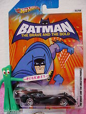 2012☆Hot Wheels Batman Comm ☆THE BRAVE AND THE BOLD BATMOBILE #2☆DC COMICS