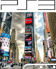 PlayStation 3 PS3 Slim NEW YORK  Vinyl Sticker Skin NEWYORK