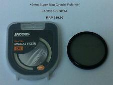 JACOBS DIGITAL 49mm CPL Filter Circular Polariser SUPER SLIM Polarizer