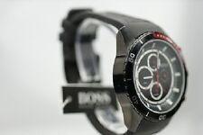 Hugo Boss 1512661 Herrenuhr schwarz Edelstahl  Cronograph Datum LUXUS Uhr zu NEU