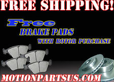 1998-2004 GMC Sonoma 4WD Front OE Replacement Rotors with Free Brake Pads